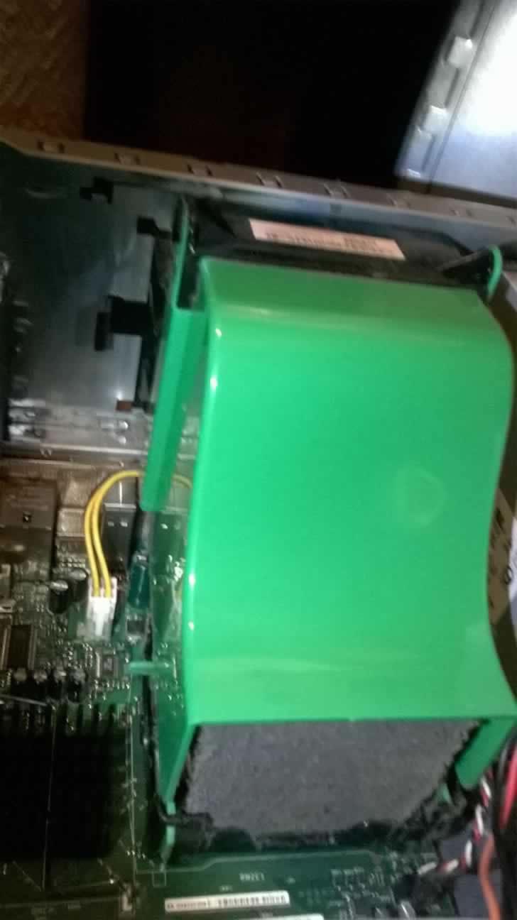 clean around the CPU