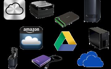 NAS, Cloud or External Drive Storage