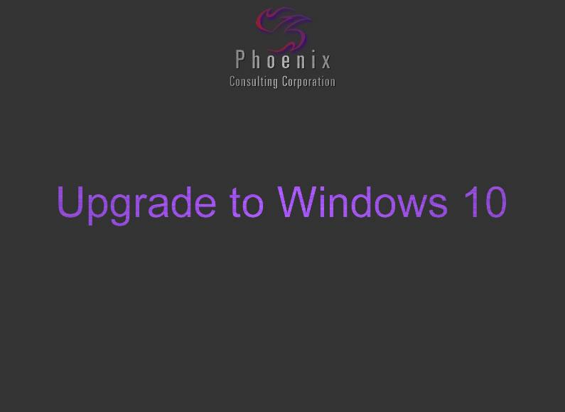 Tech Support Tuesdays: Windows 10 Updgrade